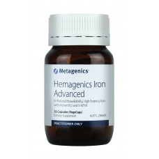 Metagenics Hemagenics Iron Advanced 30 Capsules
