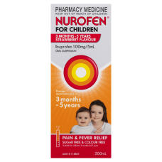 Nurofen For Children 3 Months - 5 Years Strawberry