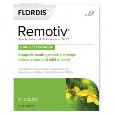 Flordis Remotiv for Stress Relief (St John's Wort) 60 Tablets